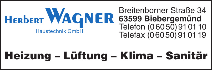 Herbert Wagner Haustechnik GmbH