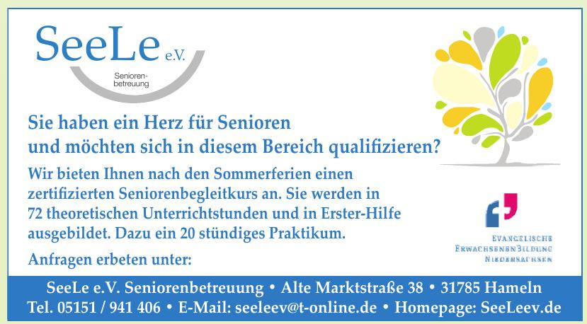 SeeLee e.V. Seniorenbetreuung