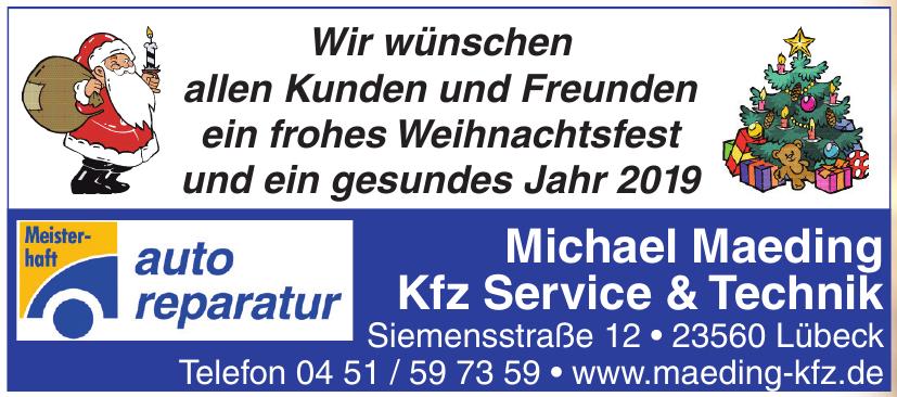 Michael Maeding Kfz Service & Technik