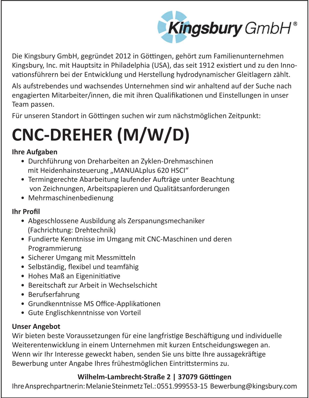 Kingsbury GmbH