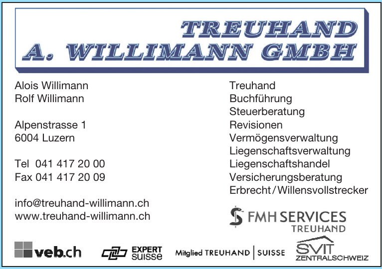 Treuhand A. Willimann GmbH