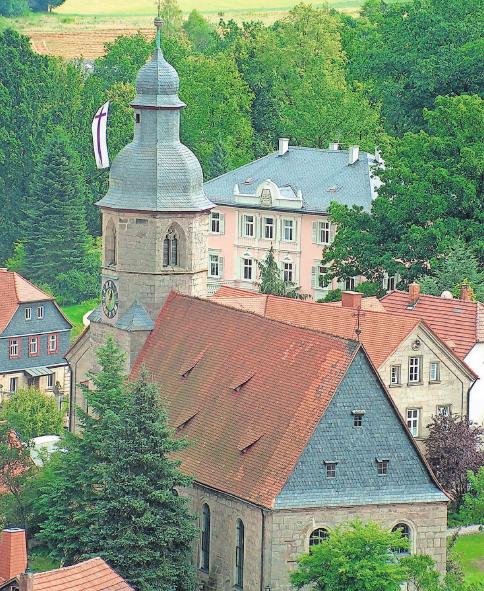 Historisches und Modernes im Mix machen den Charme von Mitwitz aus.