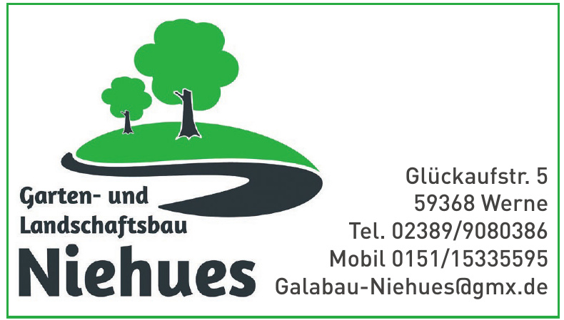Garten- und Landschaftsbau Niehues