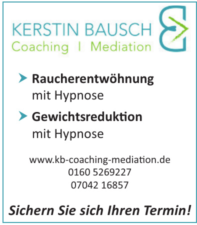 Kerstin Bausch  Coaching I Mediation