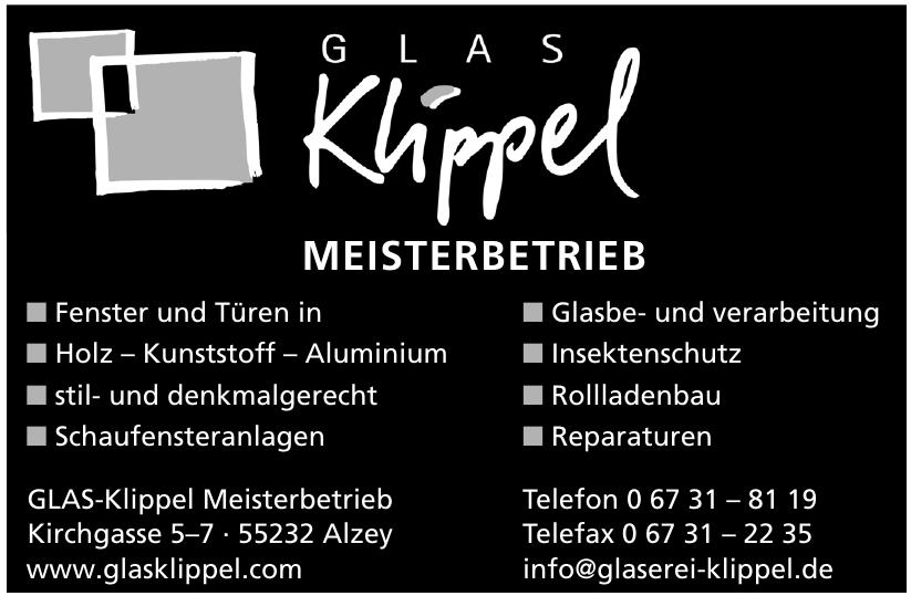 GLAS-Klippel Meisterbetrieb