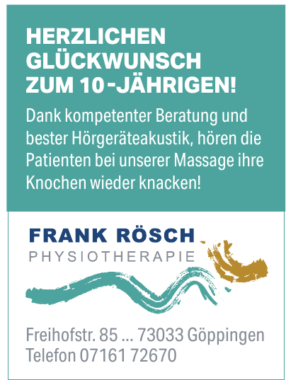 Frank Rösch Physiotherapie