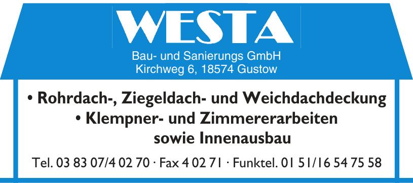 Westa Bau- und Sanierungs GmbH