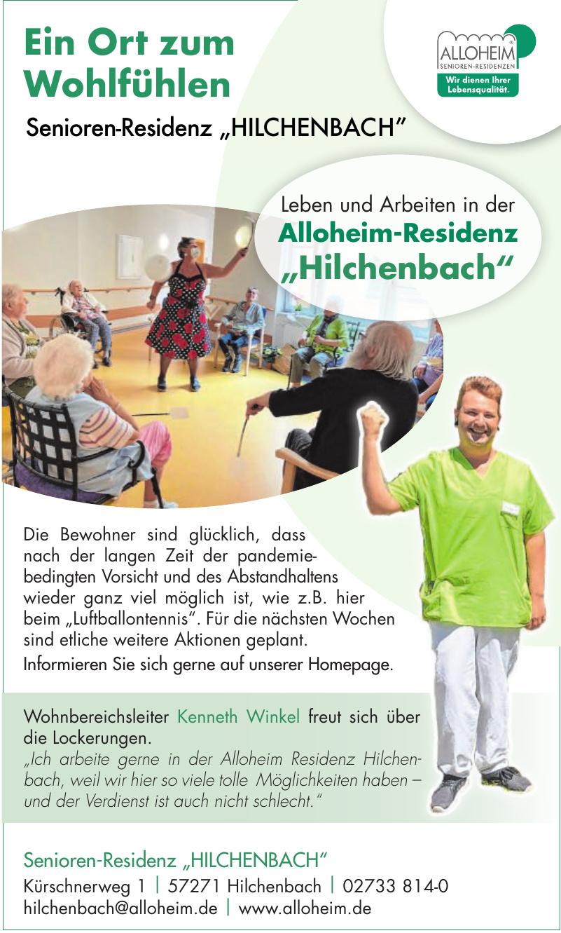 "Alloheim Senioren-Residenz ""Hilchenbach"""