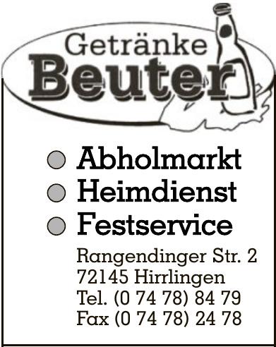 Getränke Beuter
