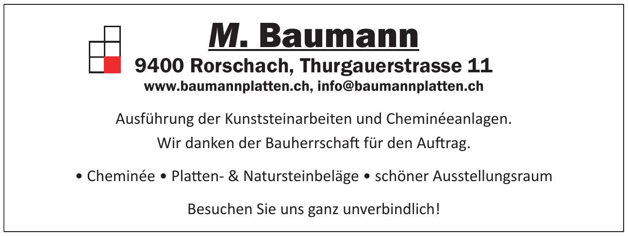 M. Baumann