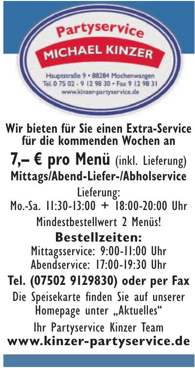 Partyservice Kinzer