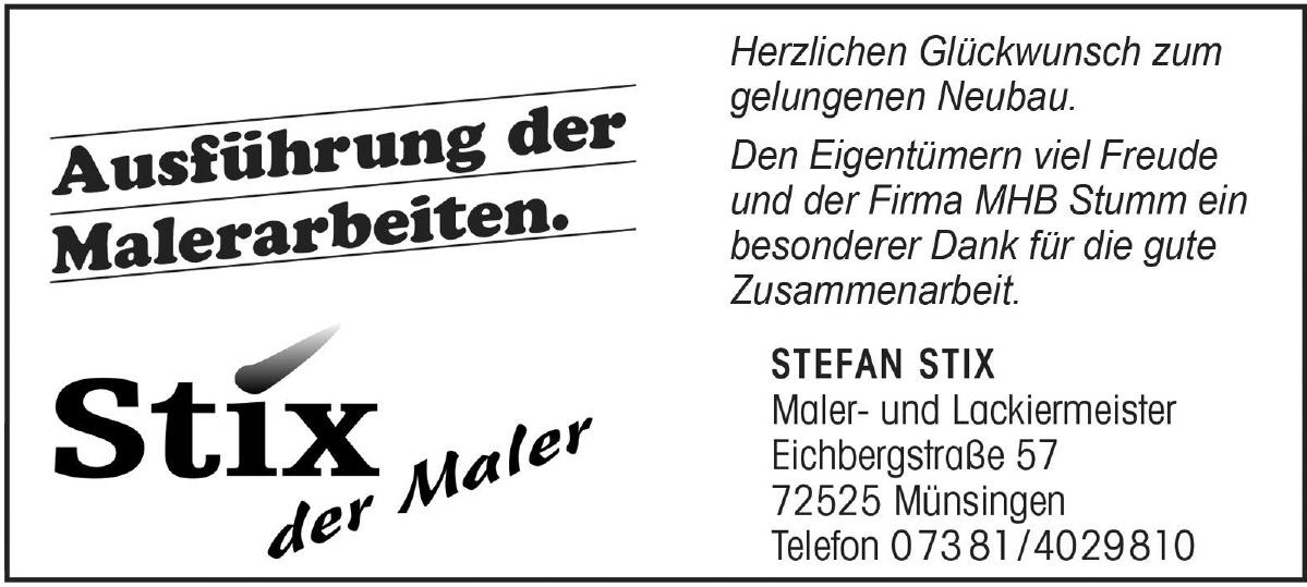 Stefan Stix Maler- und Lackiermeister