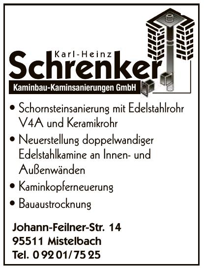 Schrenker - Kaminbau-Kaminsanierungen GmbH