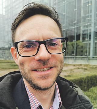"""So sieht Björn Wassong """"entjeckt"""" aus. Foto: A. Kuffner"""