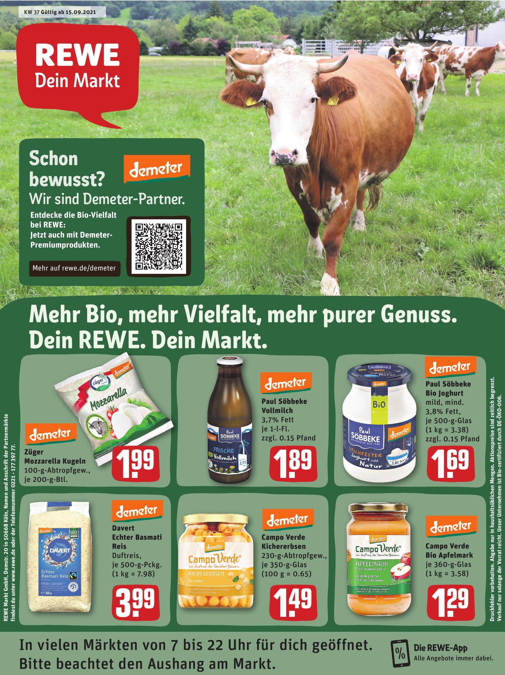 REWE - Demeter-Partner