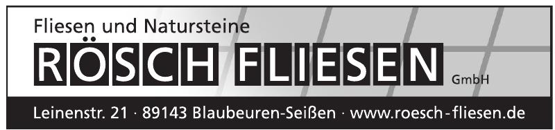 Rösch Fliesen GmbH