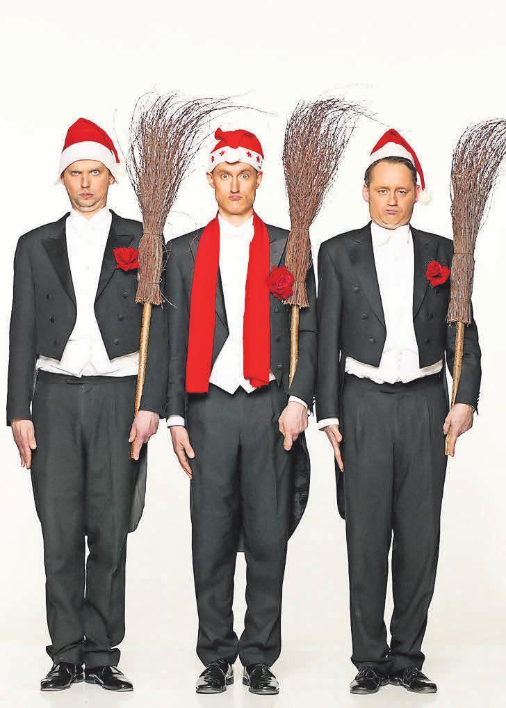 Anfang Dezember spielt Bidla Buh ein Weihnachtsprogramm im Forum.
