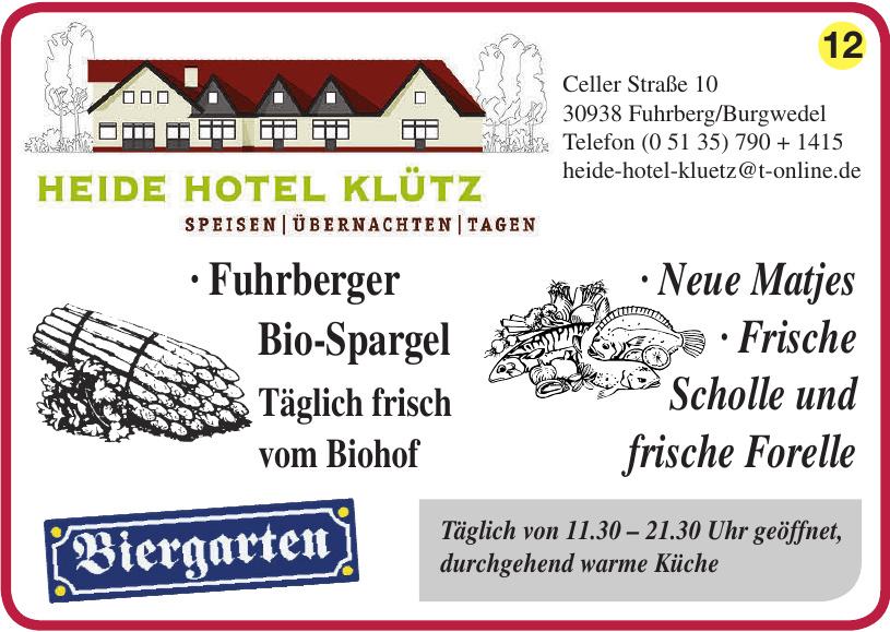Heide Hotel Klütz