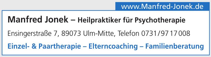 Manfred Jonek – Heilpraktiker für Psychotherapie