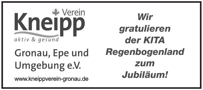 Kneipp Verein Gronau, Epe und Umgebung e. V.