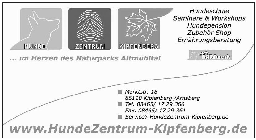 Hunde Zentrum Kipfenberg