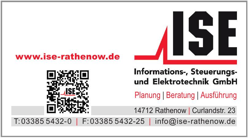 ISE Industrie Service Elektro & Elektronik GmbH