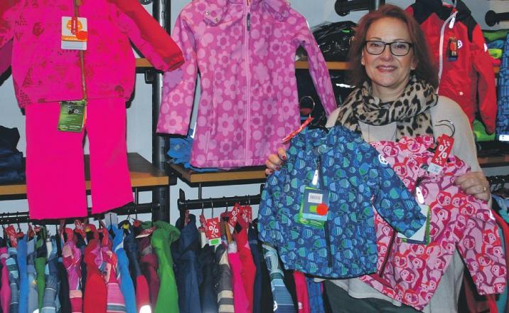 Wechsel: Karin Müller verkauft noch bis Weihnachten aus ihrem Geschäft, anschließend zieht sie zu Fahrrad Hertel um Foto: Jordan