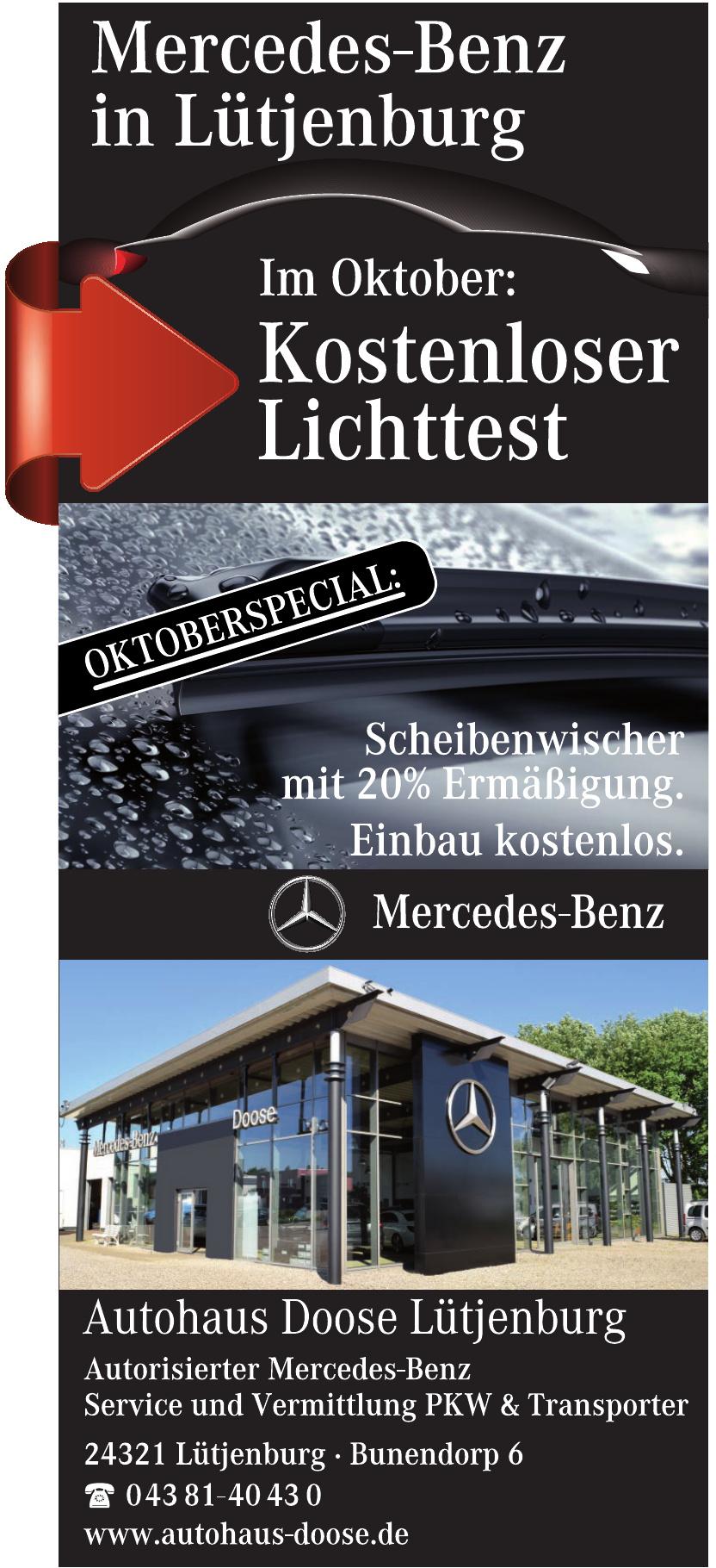 Autohaus Doose Lütjenburg