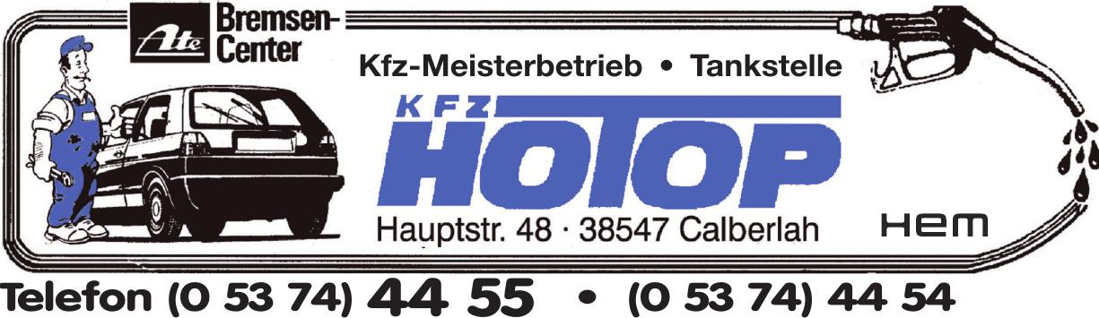 Kfz-Meisterbetrieb Hotop