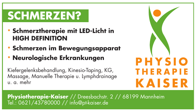 Physiotherapie-Kaiser