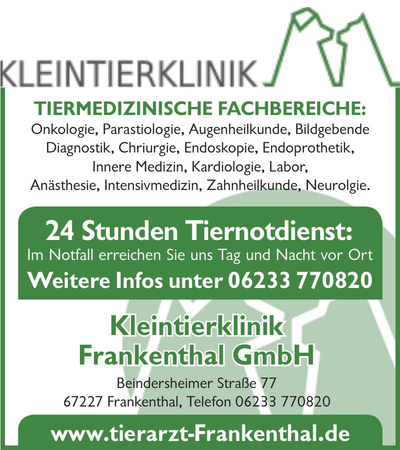 Kleintierklinik Frankenthal GmbH