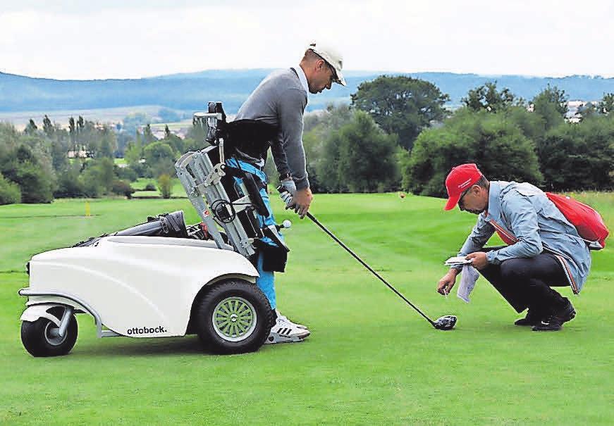 Inklusion beim Golf. Foto: Golfverband MV