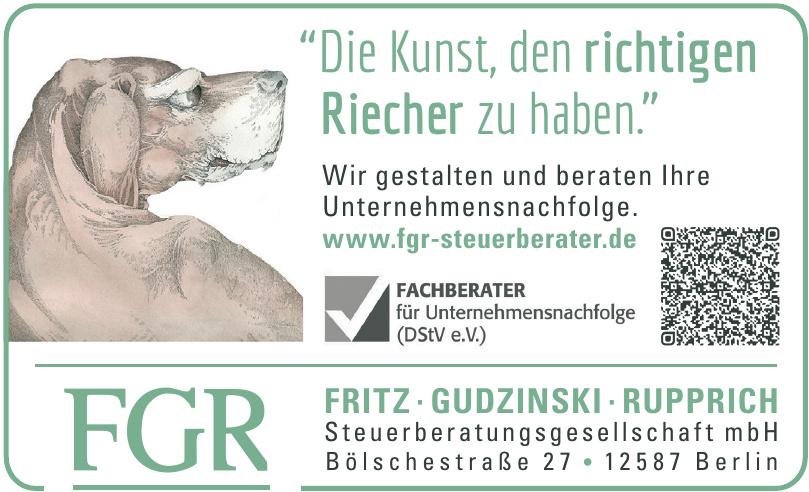 Fritz - Gudzinski - Rupprich - Steuerberatungsgesellschaft mbH