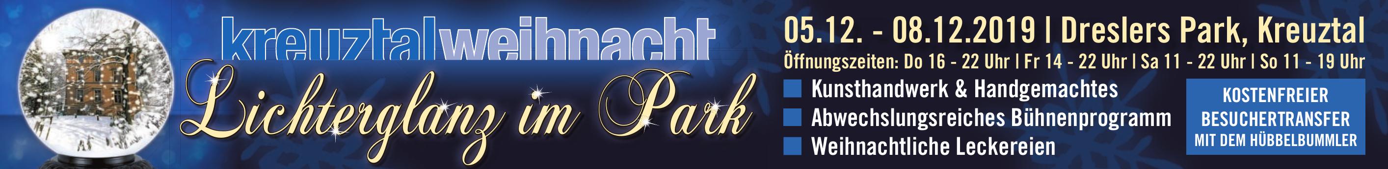 """Kreuztal lädt ein zum """"Lichterglanz im Park"""" Image 1"""