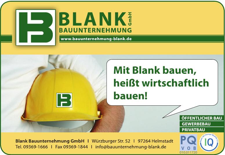 Blank Bauunternehmung GmbH