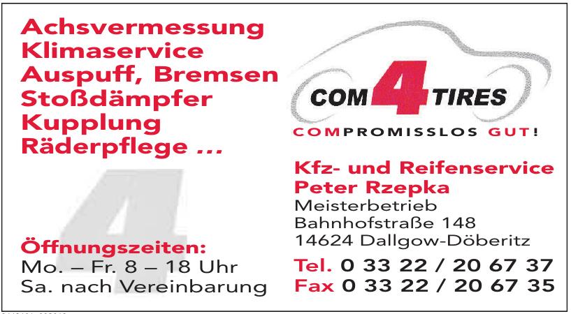 Kfz- und Reifenservice Peter Rzepka Meisterbetrieb