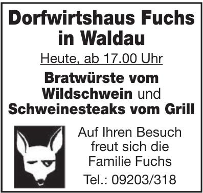 Dorfwirtshaus Fuchs in Waldau