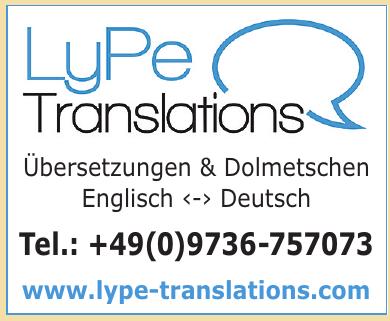 LyPe Translations