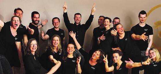 Das Parador-Team: motiviert und kompetent Foto: pr
