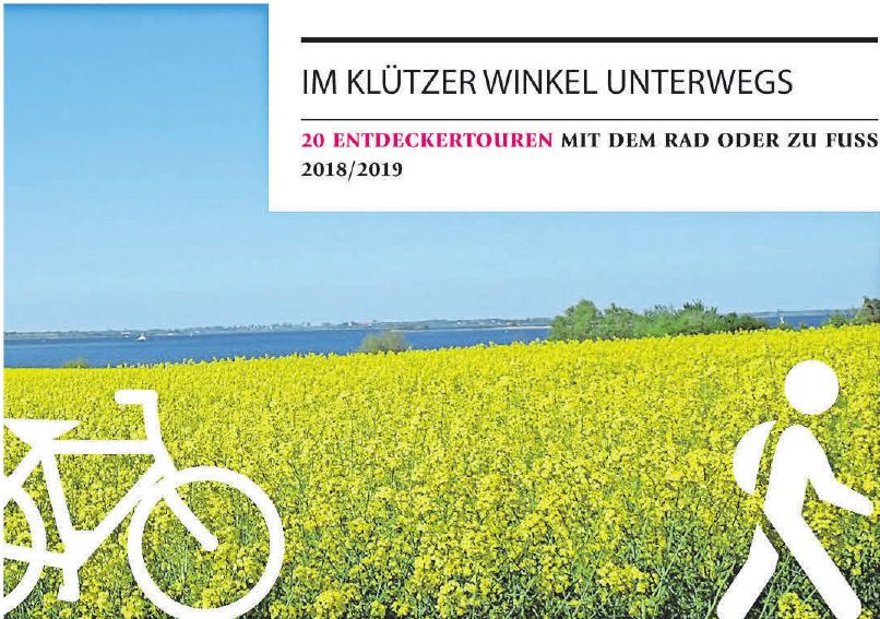 20 thematische Spaziergänge, Rad- und Wandertouren bietet die neue Broschüre an.
