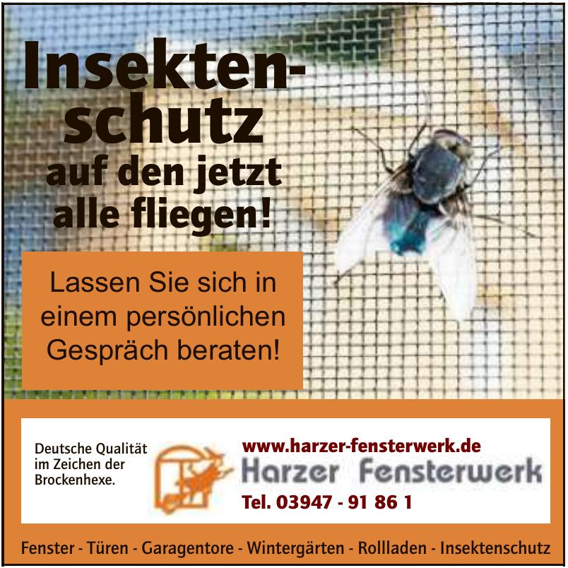 Harzer Fensterwerk Thaler Fenstertechnik GmbH & Co. KG