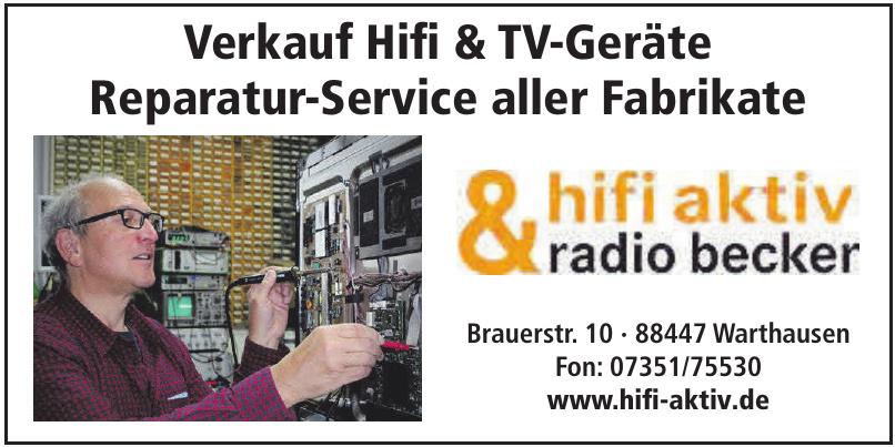 hifi aktiv & radio becker