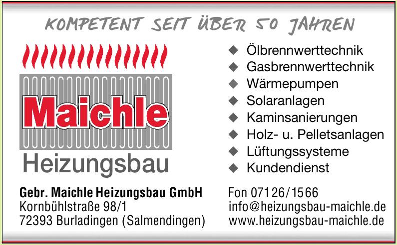 Gebr. Maichle Heizungsbau GmbH