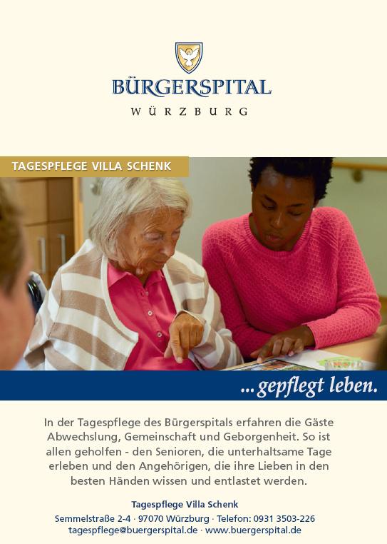 Bürgerspital Würzburg - Tagespflege Villa Schenk