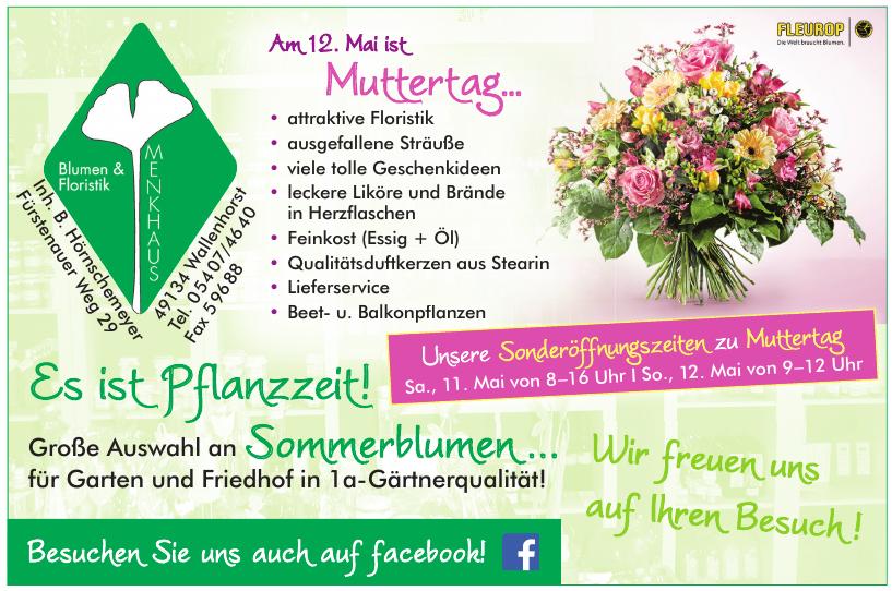Blumen & Floristik Menkhaus