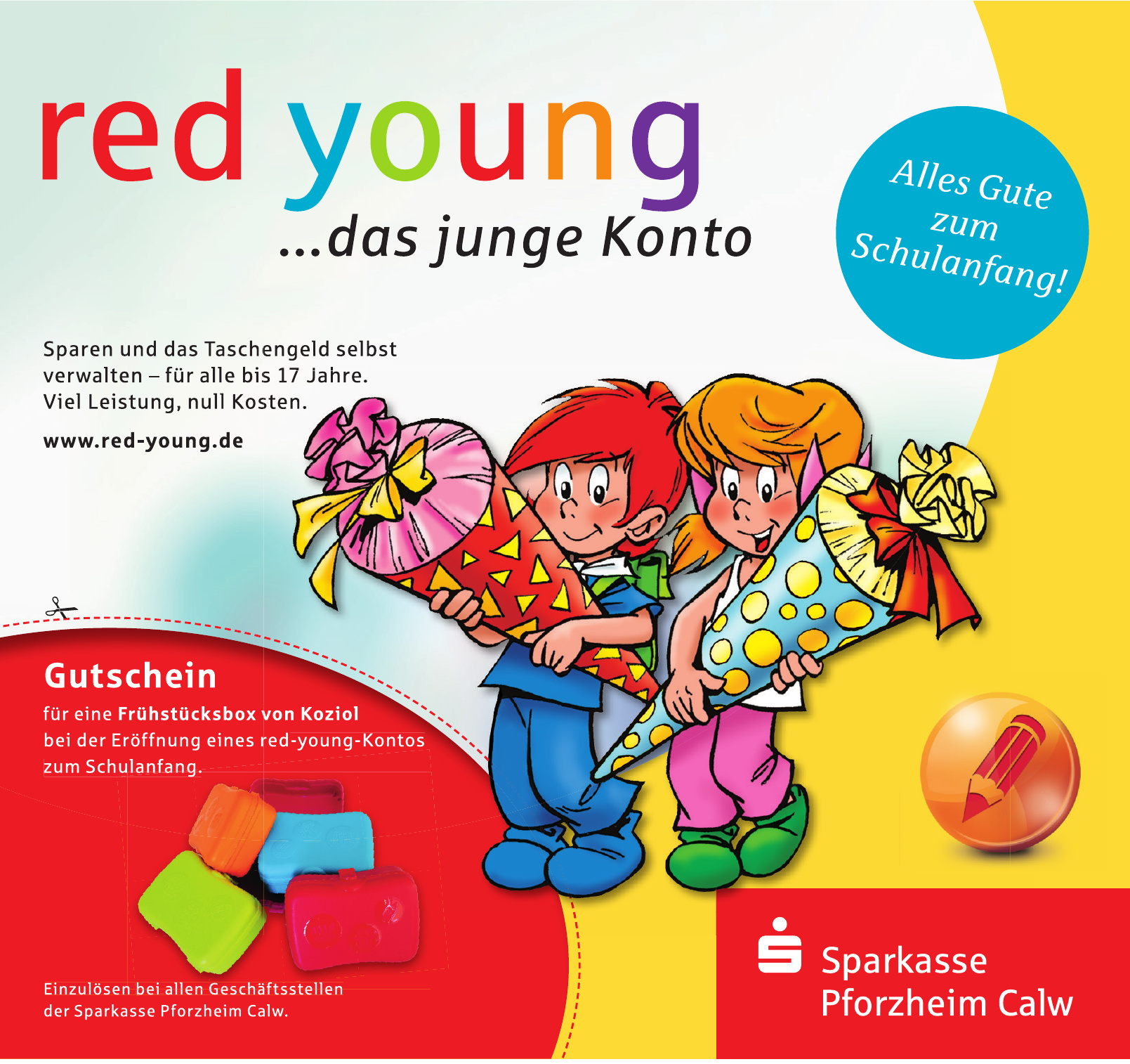 Sparkasse Pforzheim Calw - red young