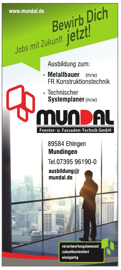 Mundal Fenster- und Fassaden-Technik GmbH