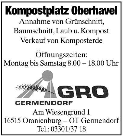 Kompostplatz Oberhavel