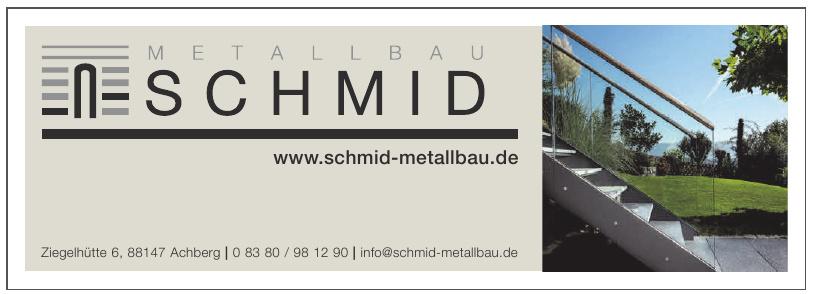 Metallbau Schmid