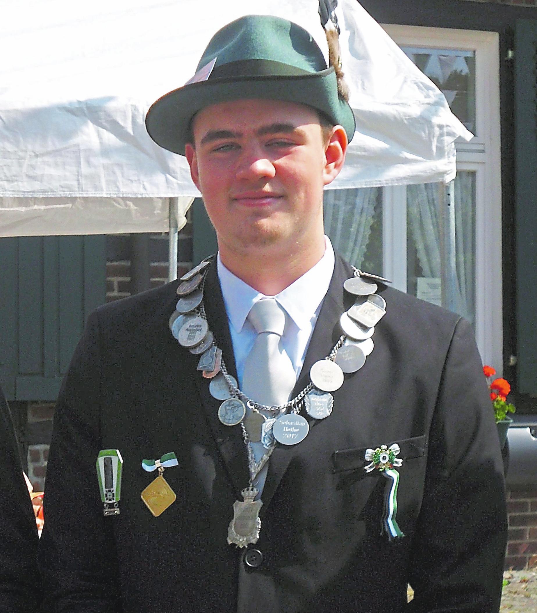 ...sowie Schülerprinz Marco Thier.